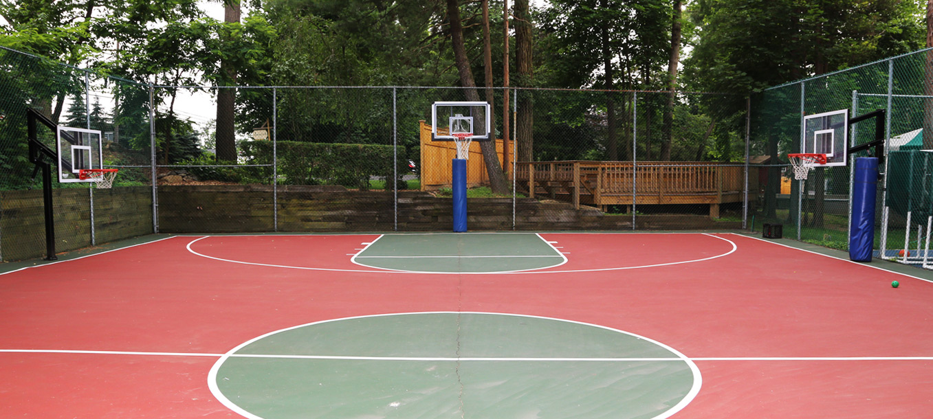 Facilities day camp new york a coed manhattan day camp for Cheapest way to make a basketball court
