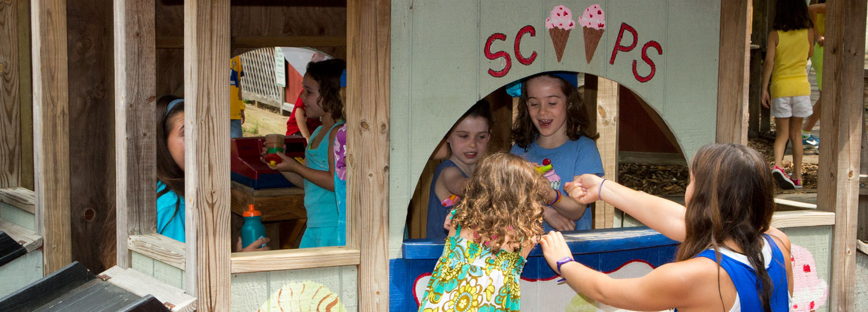 Ice cream makes camp even better