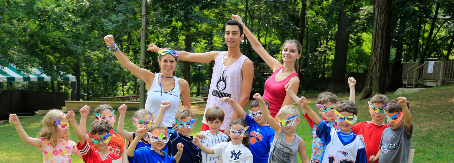 Staff and campers get ready for summer fun