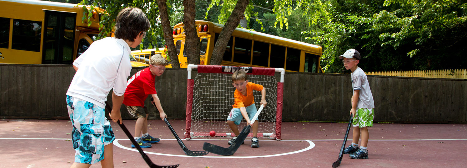 Street hockey is great fun